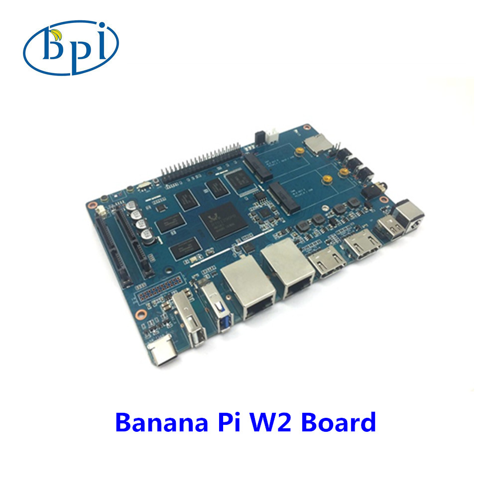 Banane Pi BPI W2 smart NAS routeur RTD1296 puce conception