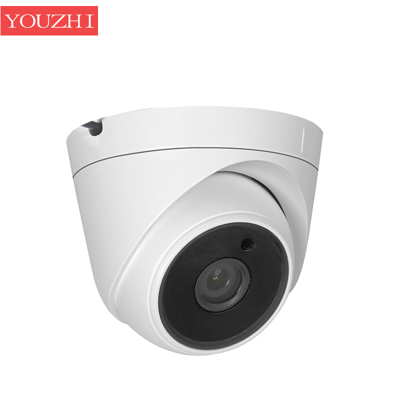 H.265 CCTV IP DOME CAMERA 2MP FHD 1080P NIGHT VISION IR LED SURVEILLANCE 25FPS IPC INDOOR HOME SECURITY POE 48V CAMERA YOUZHI 1080p 2 0mp 960p 1 3mp 720p 1 0mp 4led ir dome ip camera indoor cctv camera onvif night vision p2p ip security cam ir cut 2 8mm