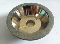 100 ملليمتر حصى الماس طحن عجلة الكأس 400 أداة القاطع طاحونة