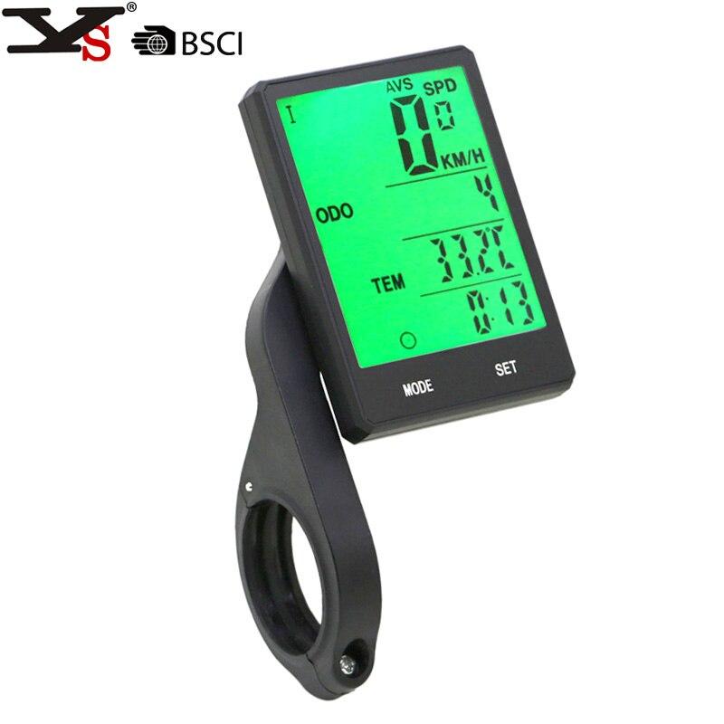 Vélo Sans Fil support Chronomètre 2.8 Grand Écran Étanche Ordinateur De Vélo Compteur de Vitesse Odomètre
