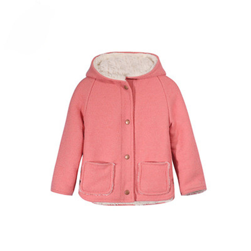 New 2016 autumn winter kids jackets children clothing girls coat child casual cotton Outwear baby embroidery cardigan jacket meetbud new arrival winter autumn outwear children clothing baby girl jacket fashion fur coat casual cotton girls kids outerwear