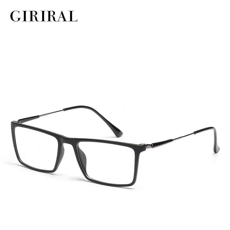 men TR90 eyeglasses frame clear myopia brand optical ...
