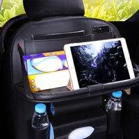 Car Portable Storage Bags Car Seat Back Portable Storage Bag Multi Use Car Organizers Black Car Organizer For IPad Phone Holder