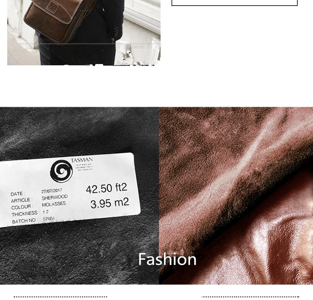 Bolsa masculina ombro moda crossbody mensageiro de