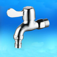 Wholesale And Promotions Retail Classic1Pc Zinc-Alloy Chrome Laundry Room Washing Machine Faucet Bathroom Accessories
