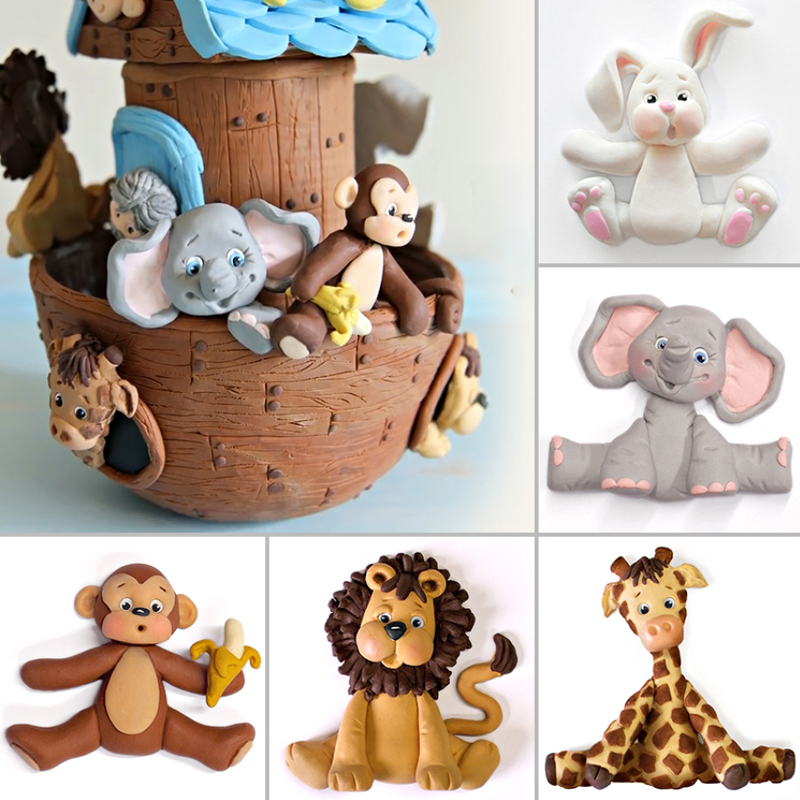 Animals Silicone Mold Fondant Mould Cake Decorating Tools Chocolate Gumpaste Molds, Sugarcraft, Kitchen Gadgets