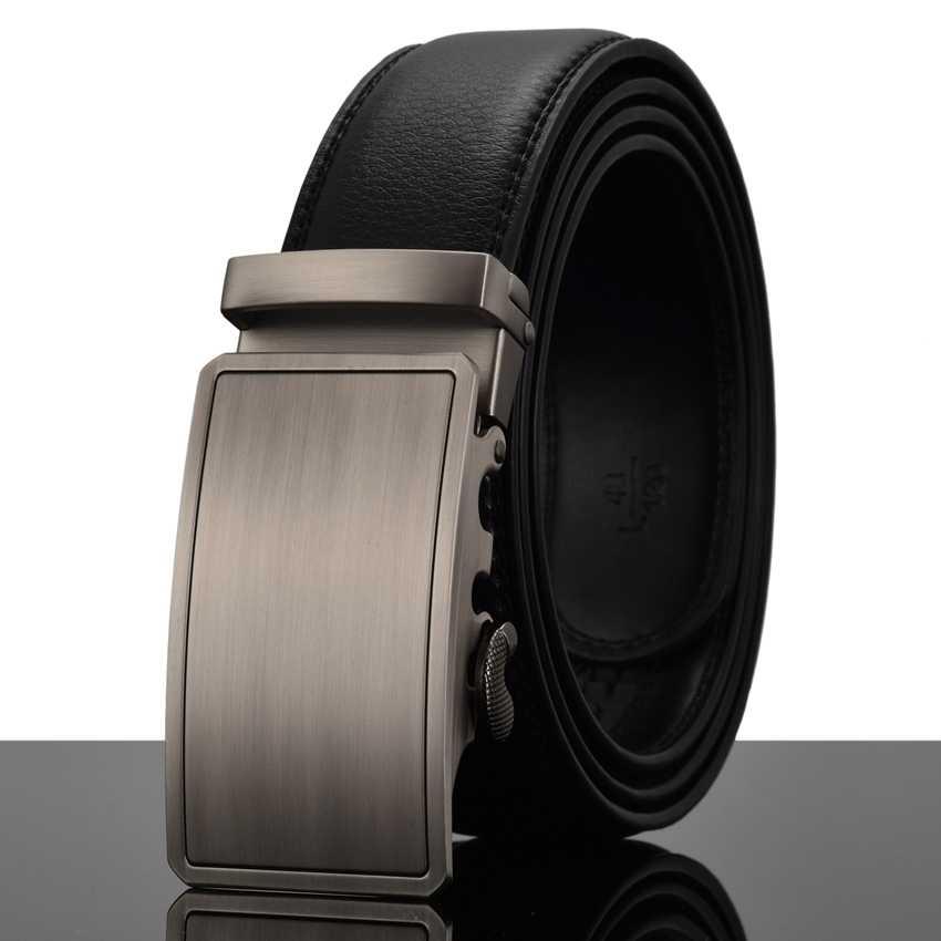 Новинка Hasemeka модные дизайнерские мужские кожаные роскошные ремни с автоматической пряжкой деловые мужские ремни с пряжками из сплава для мужчин Ceinture Homme