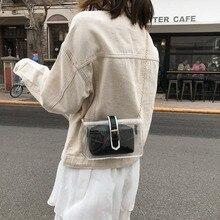 Women Transparent Square Zipper Solid Color Single Messenger Bag Simple Fashion Versatile Shoulder Small 2019 design  #2