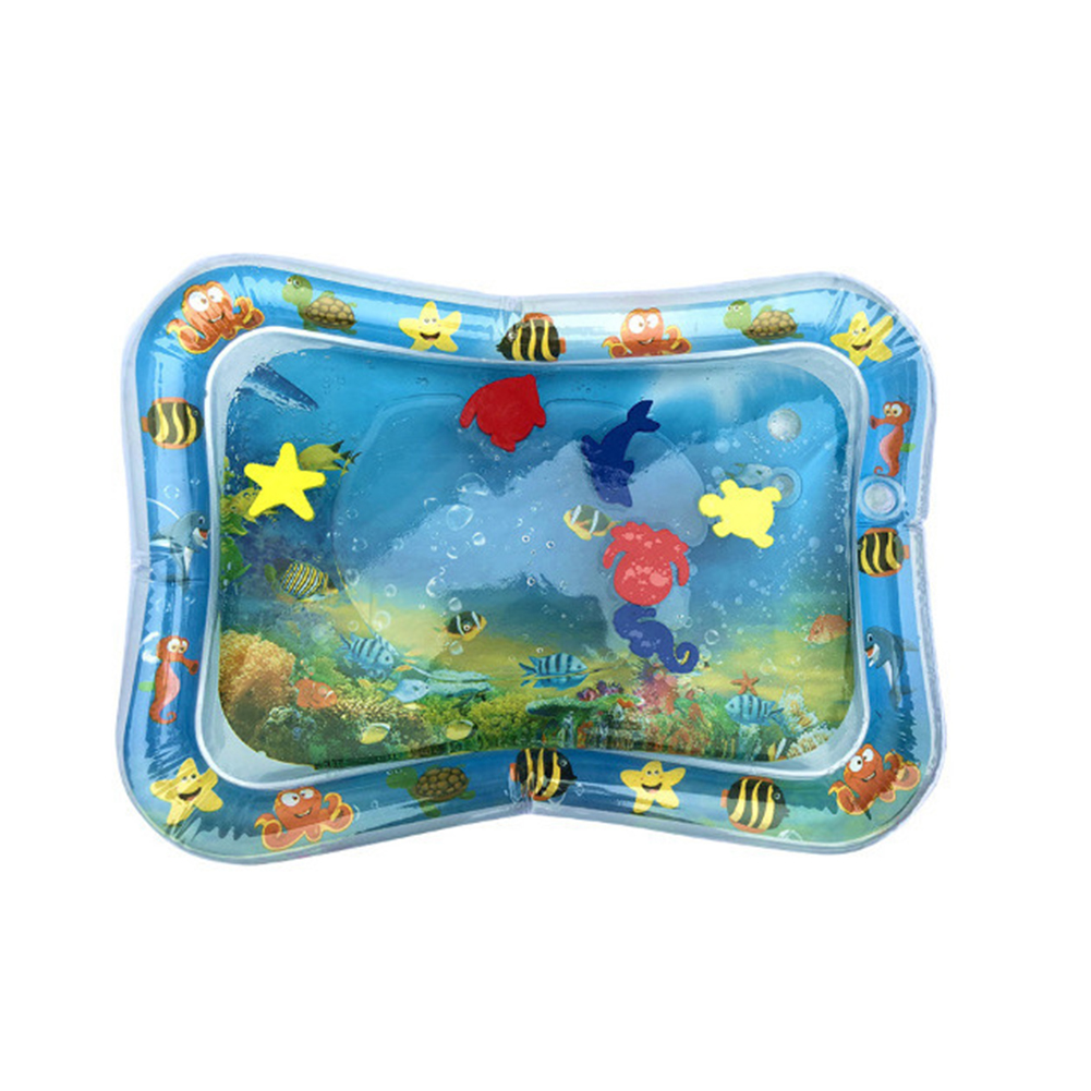 HTB1houEL4TpK1RjSZFKq6y2wXXa0 Hot Sales Baby Kids water play mat Inflatable Infant Tummy Time Playmat Toddler for Baby Fun Activity Play Center DropshipTSLM1