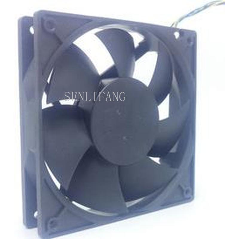 For 12cm 120*25mm DS12025B12E -P039 12V 0.2A 4 Wires PWM 4 Pins Case Fan