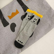 Child Socks Cotton Baby socks Animal Knitted Baby Knee Kids Cartoon Panda print Cotton Knee on expressjinni