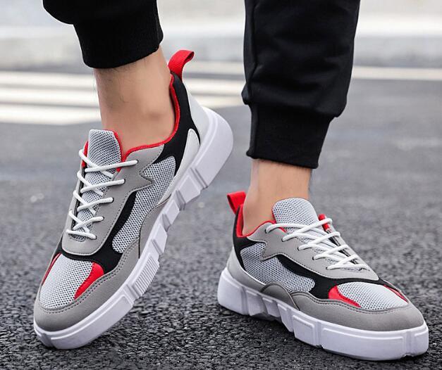 В Корейском стиле мужские туфли дышащие Гонконг Стиль обувь, плотно сидящая на ноге HPW1-HPW3
