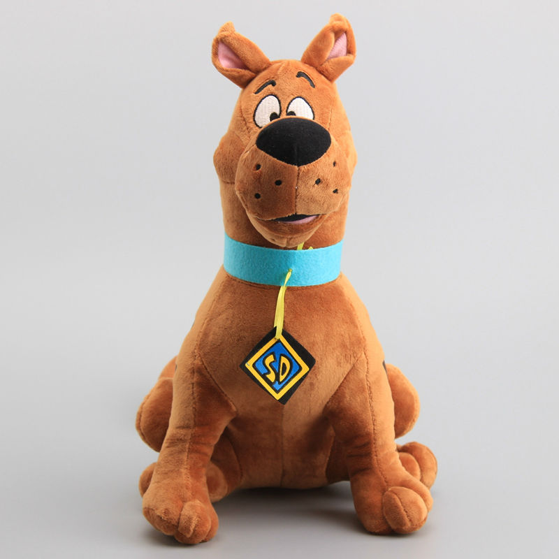 Large Size 35cm Scooby Doo Dog Plush Toys Cartoon Soft Stuffed Animals Childeren Gift