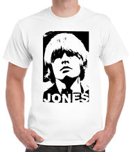 Tribute to Brian Jones T-Shirt Funny Print Clothing Hip-Tope Mans Tops Tees Fashion  Summer Straight 100% Cotton