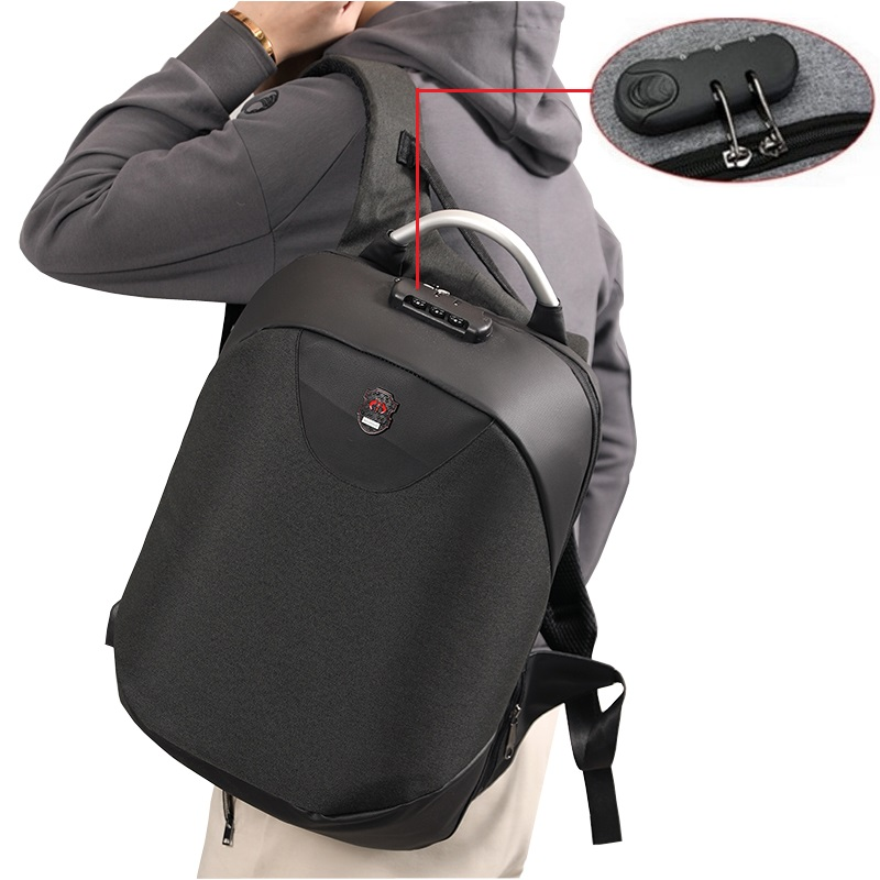 Anti-theft Backpack Male Large Capacity Business USB Charging Men's Laptop Backpack College College Backpack Sports Waterproof