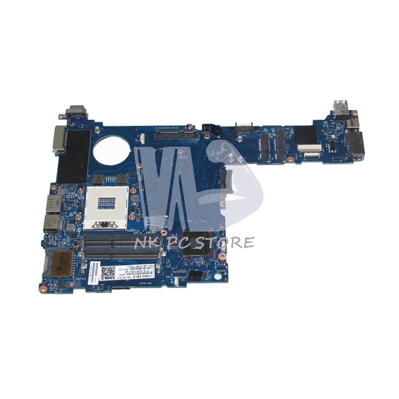 NKOTION 685404-001 Notebook PC Main Board For HP 2570P Laptop Motherboard/ System Board QM77-J8A DDR3 free shipping 690643 001 motherboard for hp elitebook 8570w system board main board hd4000 j8a with graphics slot 100
