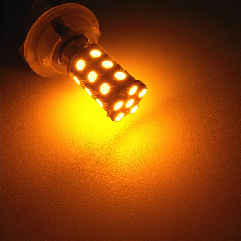 12V LED 차 전구 램프 P21W S25 BA15s / 1156 150도 각 단 하나 - 자동차 조명 - 사진 4