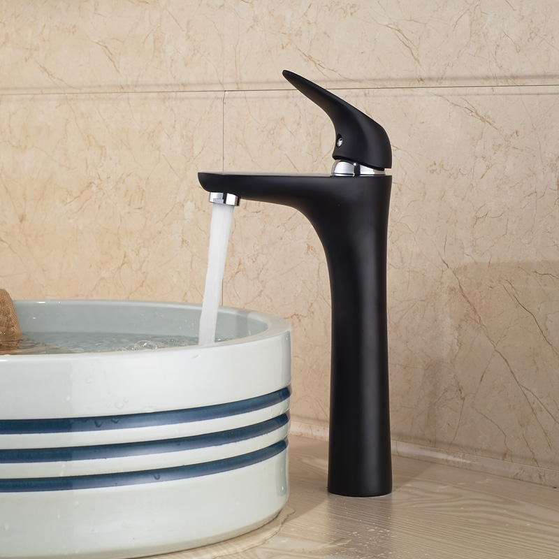 Bronze Bathroom Taps : ... Bronze Finish oil rubbed bronze basin faucet tap deck mounted bathroom