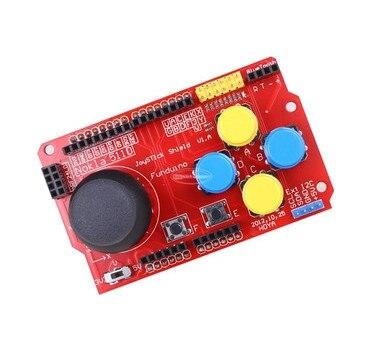 Щит джойстика для arduino Плата расширения аналоговая клавиатура и функция Мыши DIY
