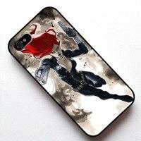 AVENGERS BLACK WIDOW Skrzynki Pokrywa, Case dla Apple Iphone 4S 5 5S SE 5c 6 6 s 6 plus 6 s plus