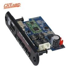 TDA7492P 25W + 25W Bluetooth מגבר לוח + MP3 מפענח לוח WAV APE Lossless אודיו USB TF AUX DC12V 24V