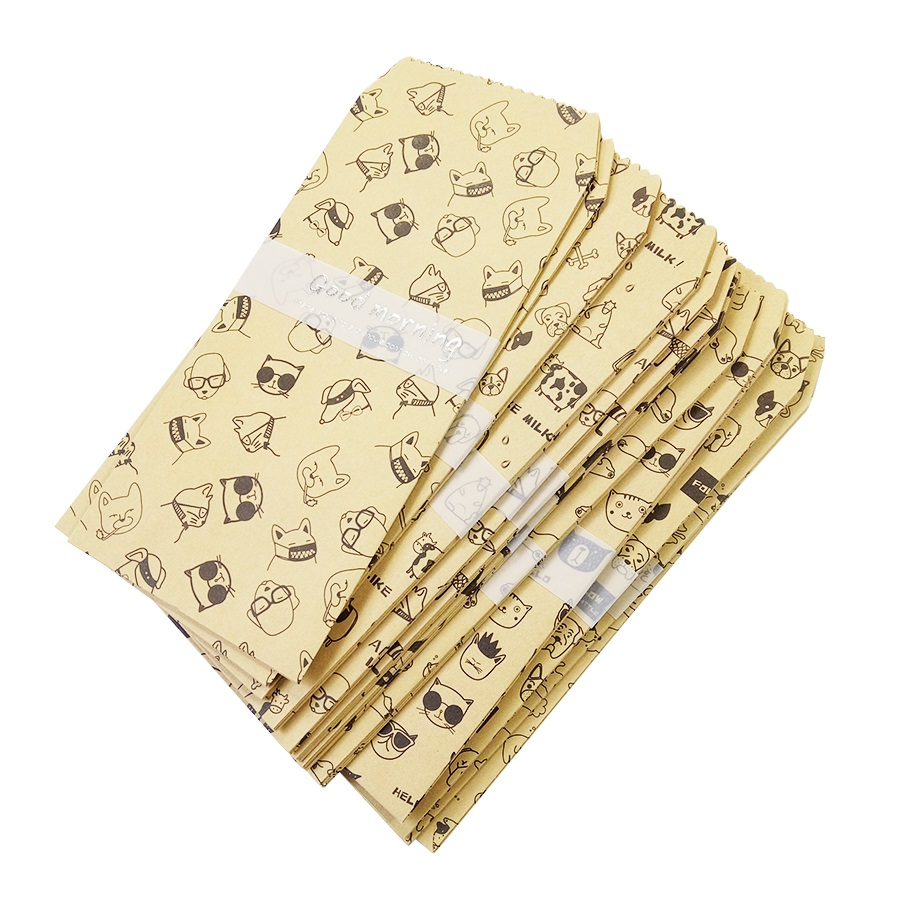 5 Pcs/lot Cute Animal Good Morning Envelope 10 Designs Cute Mini Envelopes Vintage European Style For Card Scrapbooking Gift