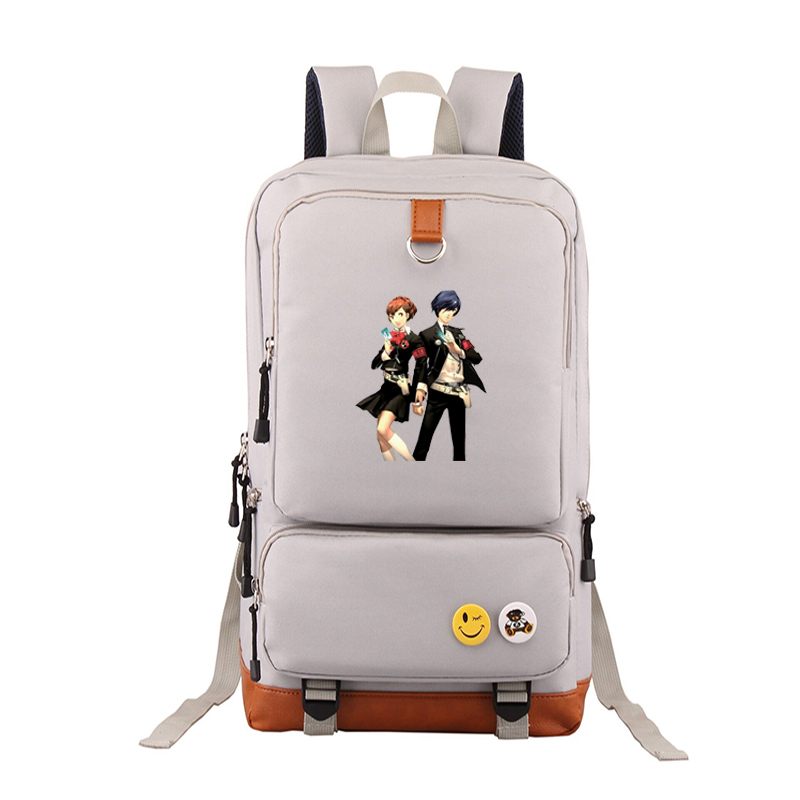 new high Q <font><b>backpacks</b></font> for teenage unisex anime <font><b>Persona</b></font> <font><b>5</b></font> <font><b>backpack</b></font> Anime <font><b>Backpack</b></font> image