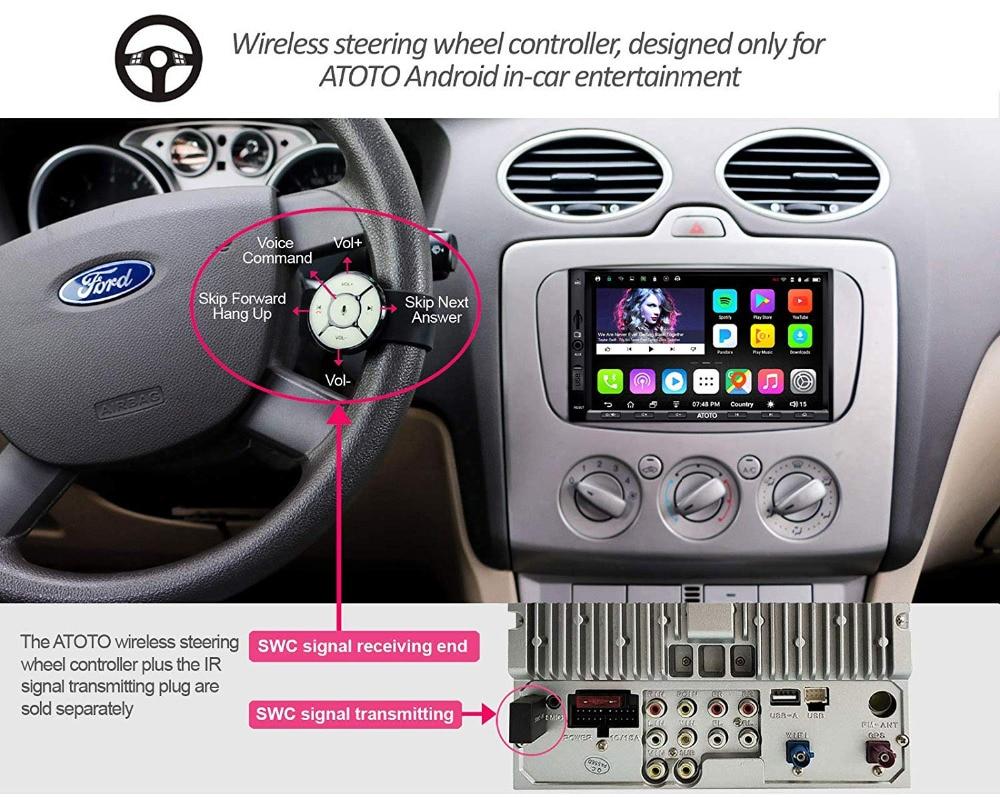 [Новый] ATOTO A6 двойной din Android Автомобильный gps навигатор стерео плеер/двойной Bluetooth/A6Y2710SB 1G/16G развлечения Мультимедиа Радио