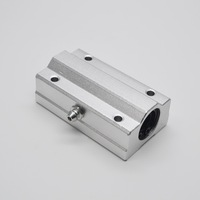 2PCS SC20LUU SCS20LUU 20mm Linear Ball Bearing Block CNC Router Pillow For 20mm Linear Shaft