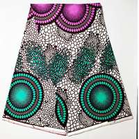high quality african real print wax fabric african 100% cotton veritable 40*40 yarn hote sale by 6 yards