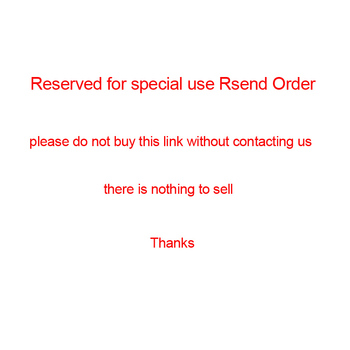 This is the resend order link please do not buy there is nothing to sell image