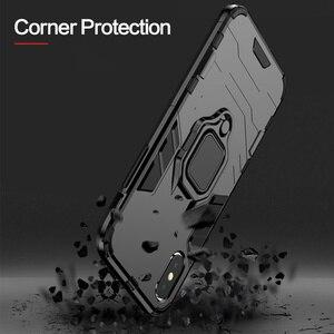 Image 2 - KISSCASE מקרה עבור Huawei Honor 10 6X 8X מקס שריון מקרי מחזיק טלפון כיסוי עבור Huawei Y9 2019 P20 P30 פרו לייט Coque