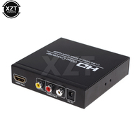 Newest Scart To HDMI Composite Converter AV Signal Adapter HD Receiver 1080P Scart HDMI To