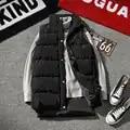 2019 Winter Jackets Waistcoat Mens Sleeveless Print Zipper Coat Men Overcoat Warm Hooded Vests Male Plus Size 5XL High Quality