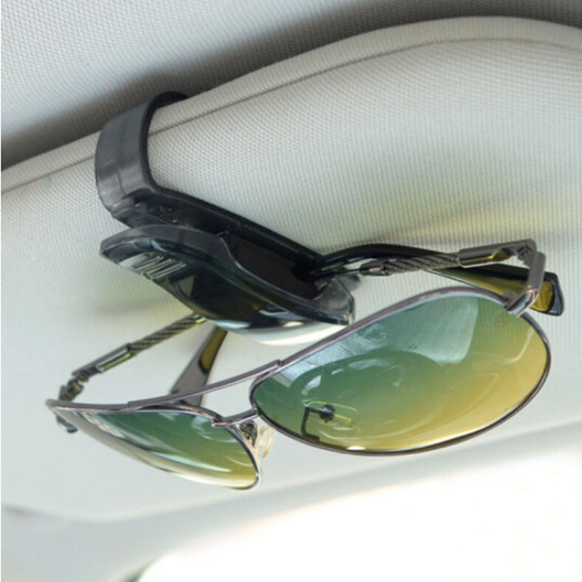 Car Sun Visor Glasses Holder Ticket Clip For Renault Kangoo DACIA Scenic  Megane Sandero Captur Twingo Modus Koleos 0499593ed14