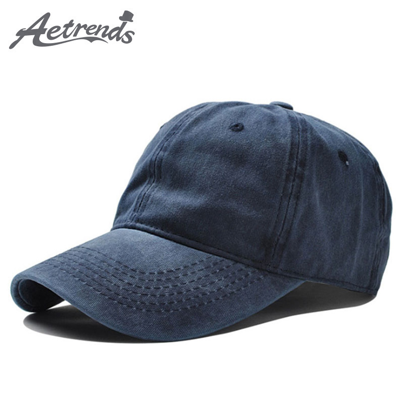 [AETRENDS] 12 Solid Colors Cotton Baseball Caps Men Fashion Sport Baseball Hats for Women Z-6207 longkeeper 6 colors led light flash baseball caps fashion led lighted glow club party sports black fabric travel hats chapeu