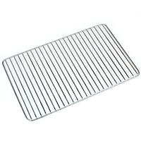 304 Thick stainless steel wire mesh rack outdoor camping tools Non stick bbq grill mat