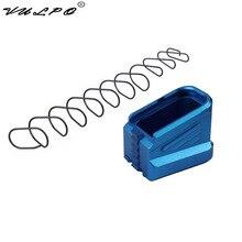 VULPO Kit de Base de Magazine en aluminium pour Glock 17 17C 17L 22 22C 24 24C 31 31C 34 35, nouveauté, CNC