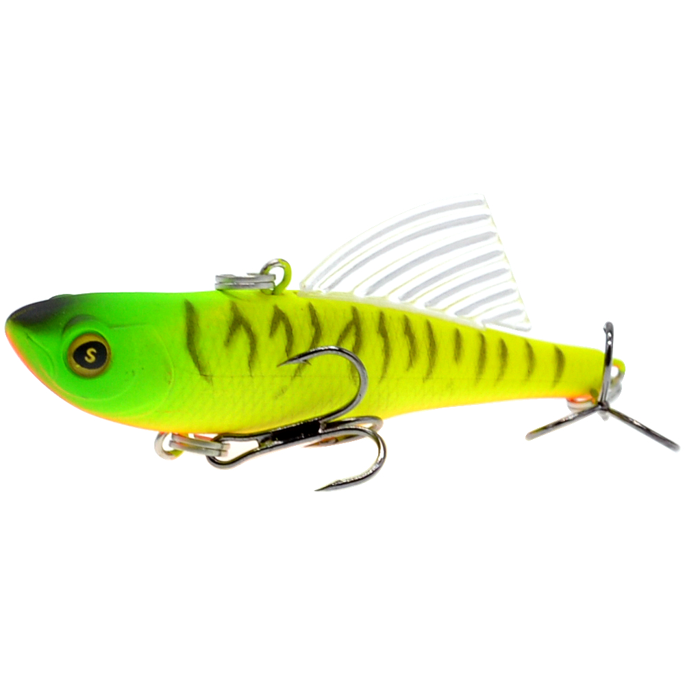 Image 5 - WLDSLURE Sinking Vibration Fishing Lure Hard Plastic Artificial VIB Winter Ice Jigging Pike Bait Tackle Isca Peche-in Fishing Lures from Sports & Entertainment