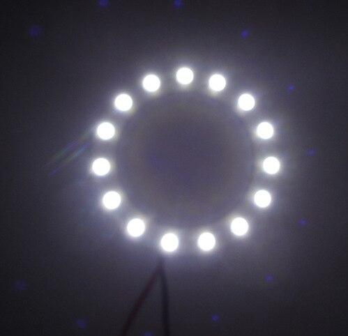 1 комад Хот Цар ЛЕД 60 мм анђеоски отвор - Светла за аутомобиле - Фотографија 3