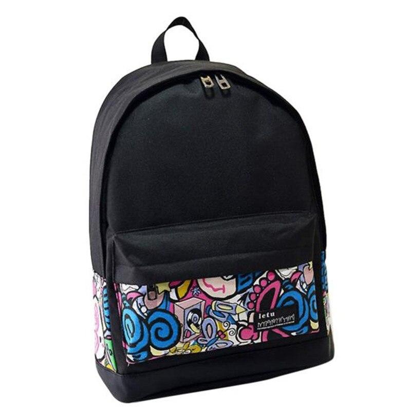 Women bag New Style School Bags Girls Backpack School college ...