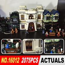 Lepin 16012 Nouveau Film Série Harry Potter Le Diagon Ruelle Ensemble Blocs de Construction Briques Jouets Éducatifs 10217