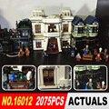 Lepin 16012 Nueva Serie de Películas de Harry Potter El Callejón Diagon Conjunto de Bloques de Construcción Ladrillos de Juguetes Educativos 10217