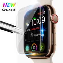 OSRUI Screen Protector For cover Apple Watch Series 4 44mm 40mm Soft Film Iwatch band 9D Anti-Shock Protective Full Coverage 3pack tpu screen protector film for apple watch series 4 40mm 44mm soft tpu anti scratch protective film for iwatch 40mm 44mm