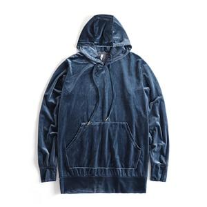 Image 4 - Stranger Things felpe con cappuccio da uomo in velluto Kanye West Streetwear felpe con cappuccio in velluto pullover da uomo felpe Hip Hop nero/rosso/grigio