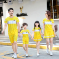 Active Family Matching Outfit Cotton Family Clothing Sets Mother Daughter Dresses Father Son Clothes Family Style Set TH7
