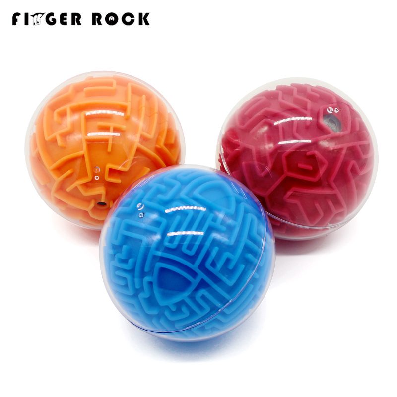Dedo Rocha 3D Bola Labirinto Brinquedos de Inteligência Labirinto Labirinto Jogo de Puzzle Crianças Cedo Educacional Cérebro Teaser de Puzzle Brinquedo Pista Bola