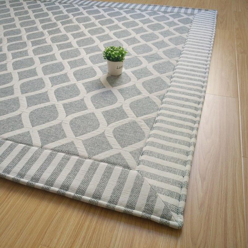 WINLIFE tapis gracieux canapé/salon/chambre/thé Teable tapis antidérapant tapis japonais grands tapis pour la chambre à coucher