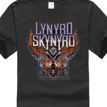 c30f156d T Shirt 2017 Lynyrd Skynyrd Guitars Eagle Logo Rock Official Tee T Shirt  Mens Unisex T