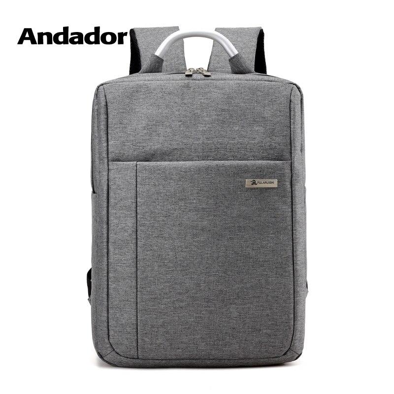 все цены на modern grey simple laptop backpack with comfortable handle school bag for men business travel computer backpack онлайн